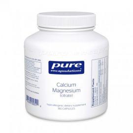 Calcium Magnesium (citrate) 180's